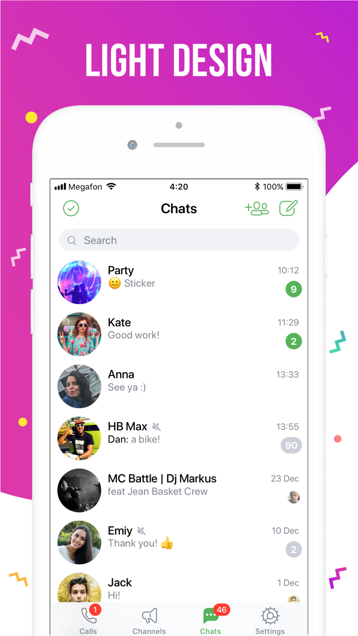 ICQ – Video Calls & Chat App Screenshot