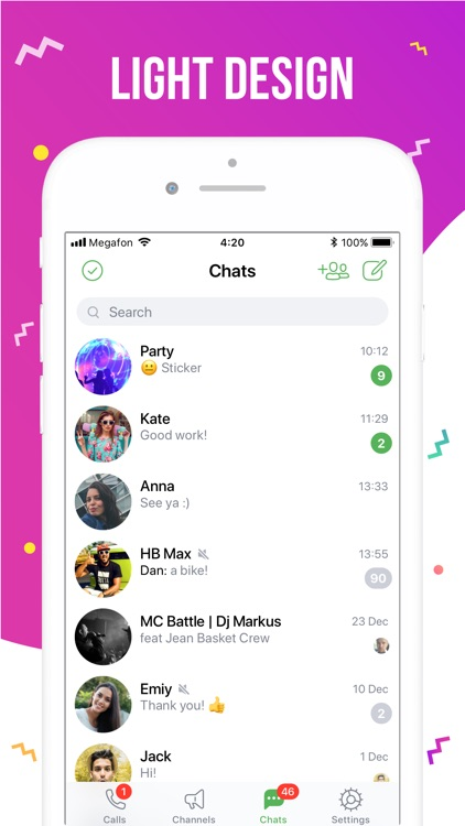 ICQ – Video Calls & Chat App screenshot-3