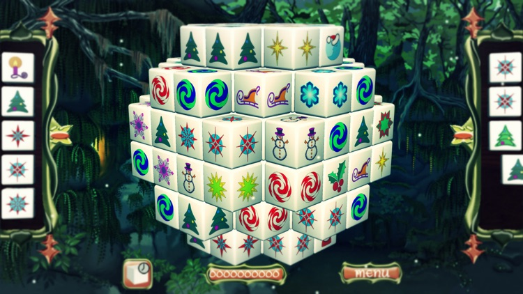 Mahjong Christmas.Fairy Mahjong Christmas Puzzle By Artex Studios Inc