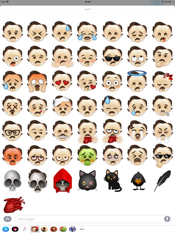 Poe Emojis screenshot 3