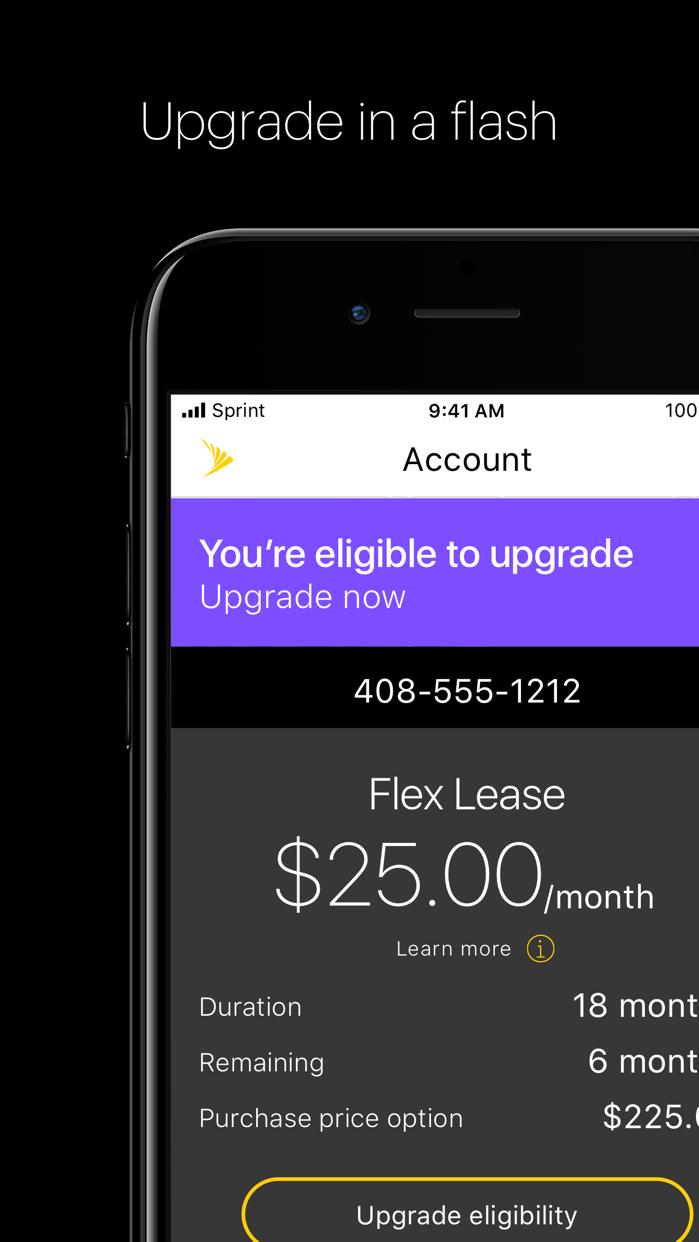My Sprint Mobile Screenshot
