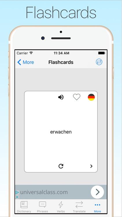 German Dictionary & Translator screenshot-4