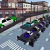 Police Car Carrier-Parking Transporter Simulator