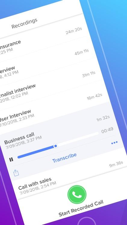Rev Call Recorder screenshot-3