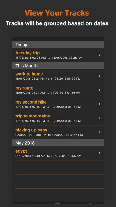 Track Me GPS screenshot two