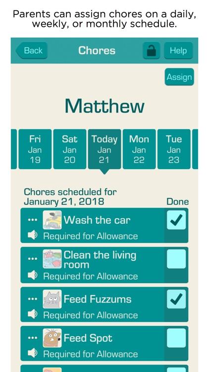 Allowance & Chores Bot Lite screenshot-3