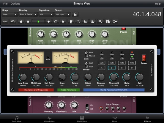 Multi-Band Compressor Plugin screenshot 6