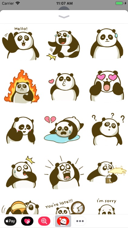 Panda Stickers Collection screenshot-7