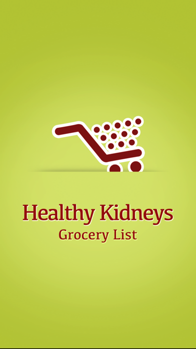 Healthy Kidneys Grocery Listのおすすめ画像1