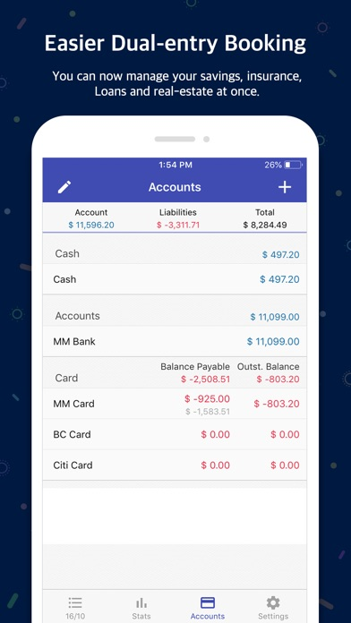 Screenshot for Money Manager (+PC Editing) in Israel App Store