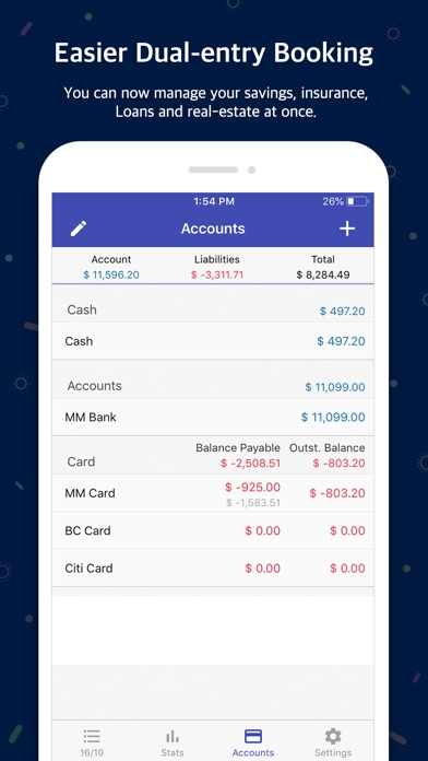 Screenshot for Money Manager (+PC Editing) in Finland App Store
