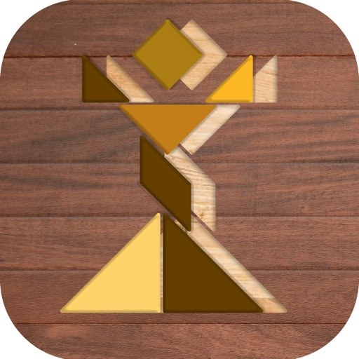 Wooden And Tangram