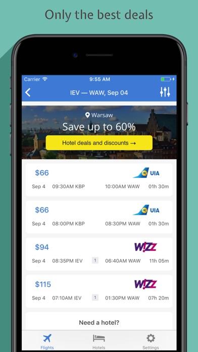 点击获取Bezviz - Cheap flights from Ukraine