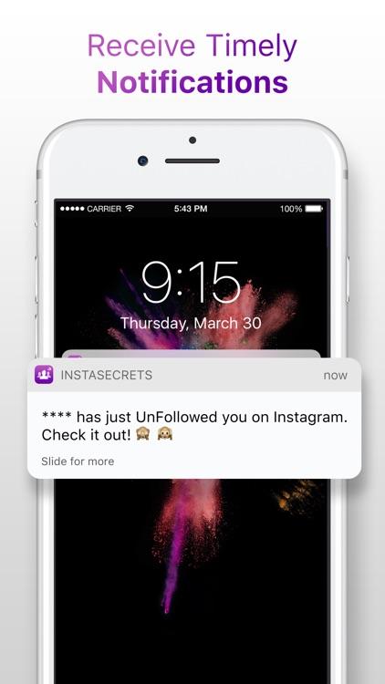 InstaSecrets - Followers Analytics for Instagram screenshot-4