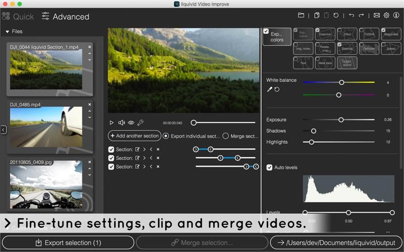 liquivid Video Improve Screenshots
