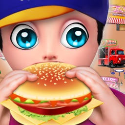 Fast Food Truck Park Chef Game