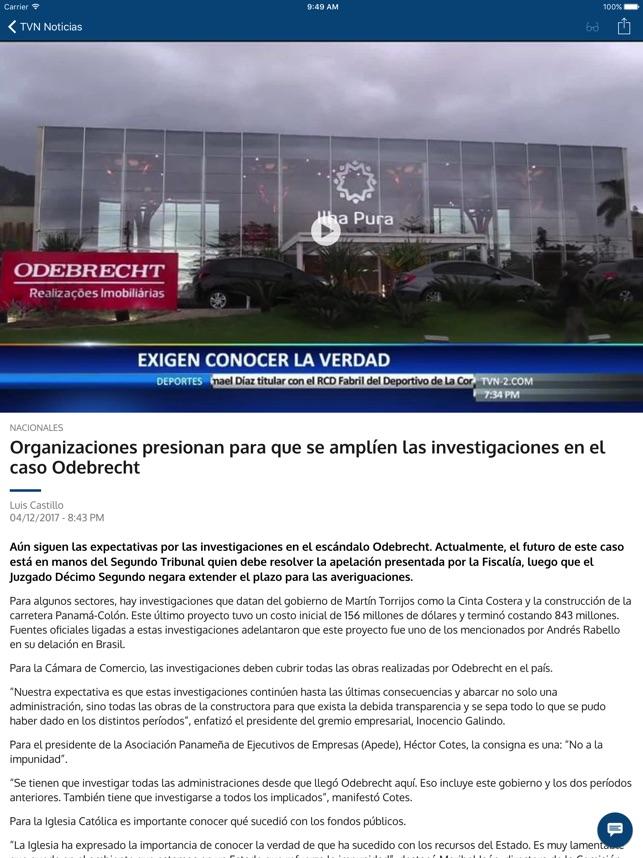 TVN Noticias Panamá on the App Store