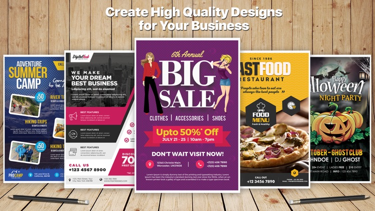 Design & Flyer Creator Pro screenshot-4