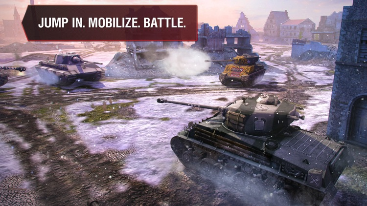 World of Tanks Blitz screenshot-4
