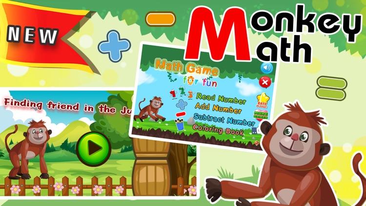 Monkey Run Mathmatics Puzzles screenshot-0