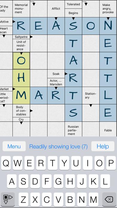 Crosswords Plus . screenshot 1