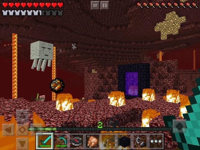 Minecraft Im App Store - Minecraft spielen echt