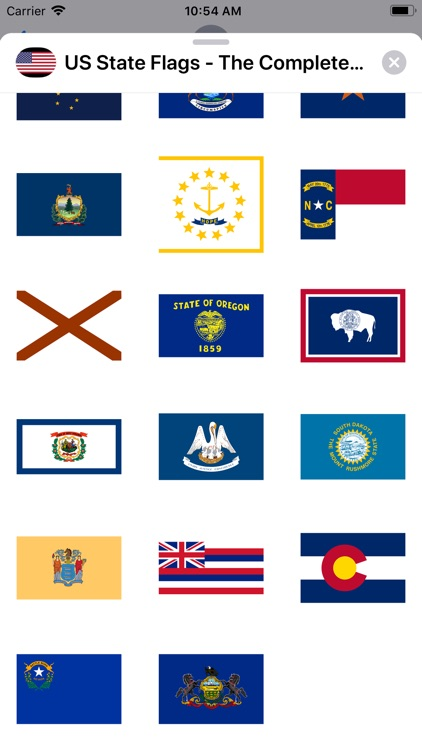 US State Flags Complete Set screenshot-3