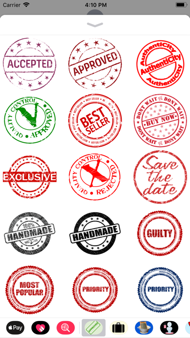 Stamp It Stickers screenshot one