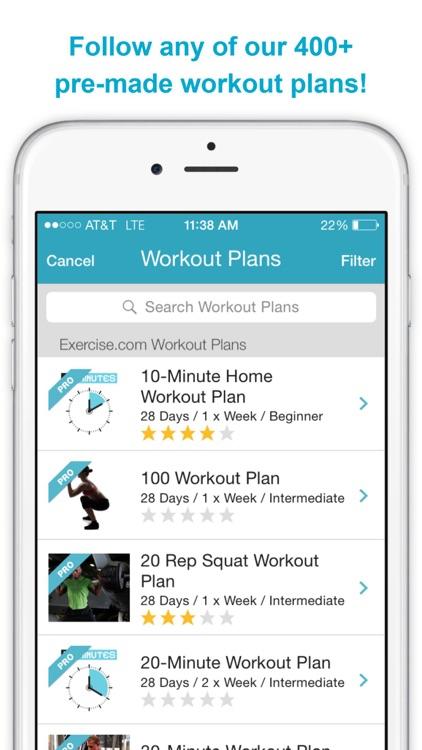 Exercise.com screenshot-4