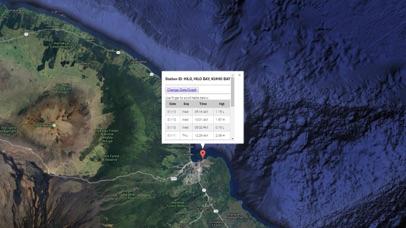 Hawaii Tide Chart & Weather Screenshot