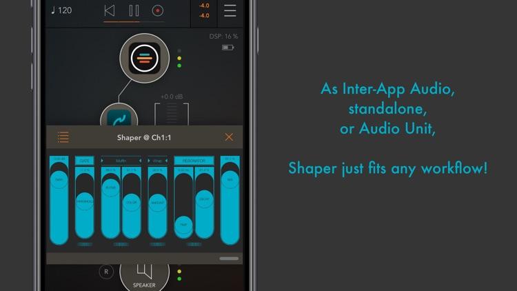 Shaper : smart audio destroyer screenshot-3