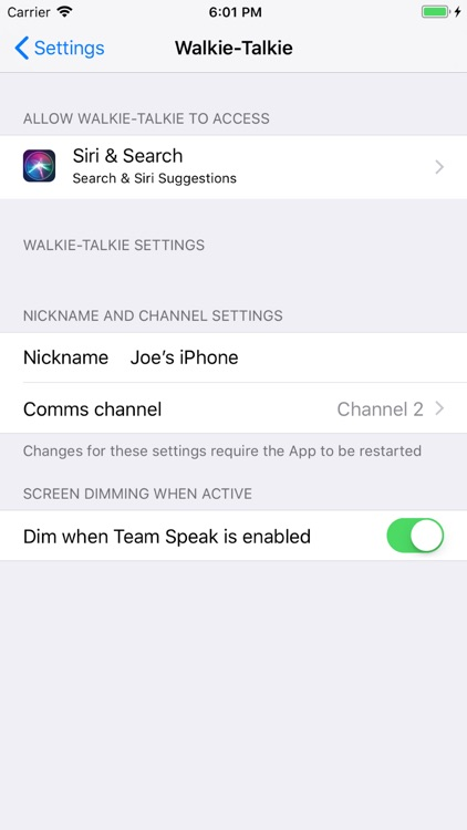 Walkie Talkie: Voice & IM Chat screenshot-4