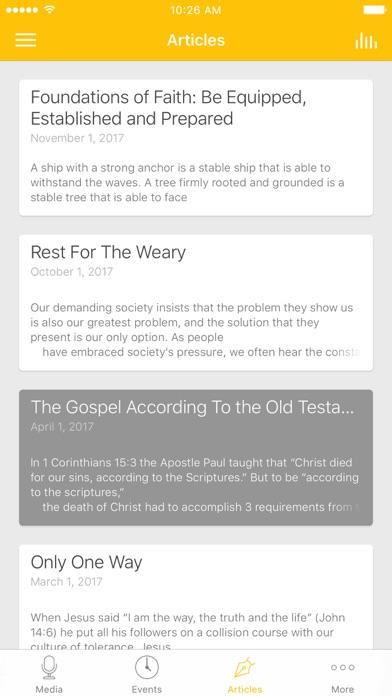 GraceLife London Church App screenshot 3