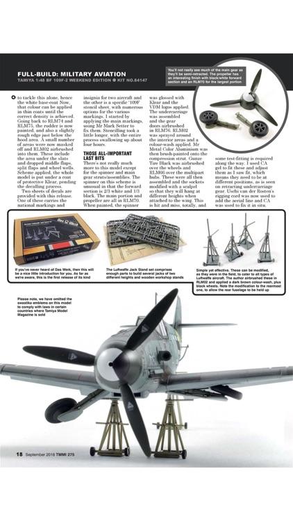 Tamiya Model Magazine screenshot-3