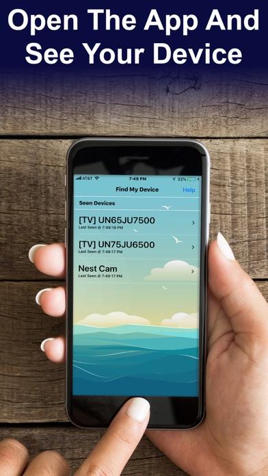 Find My Device - BT Scanner Screenshots