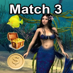Mermaid Princess Fantasy Match - match three items to crush the levels