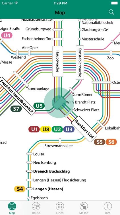 Frankfurt – S Bahn & U Bahn