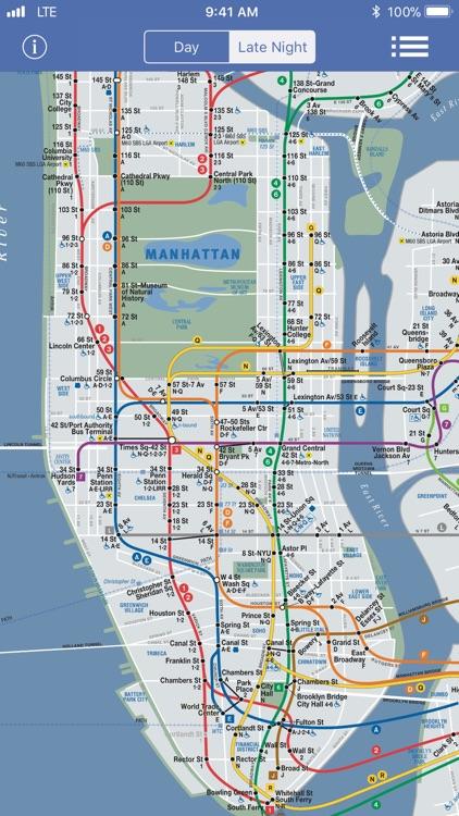 New York Subway Map OFFLINE screenshot-4