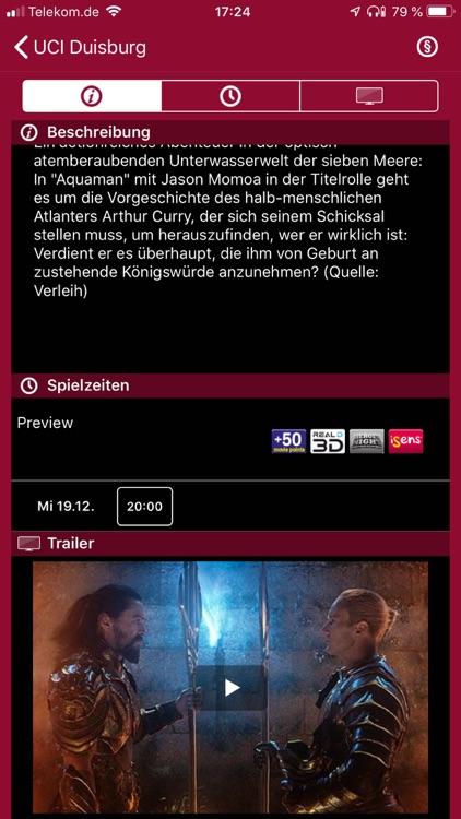 UCI KINOWELT Filme & Tickets screenshot-4