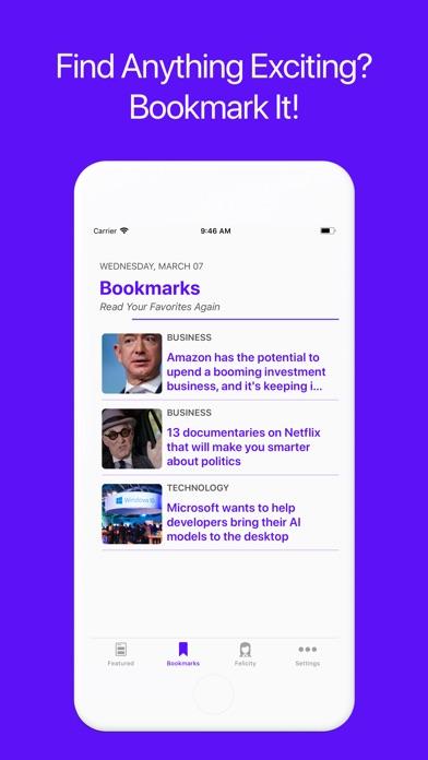 Views • News Redesigned app image