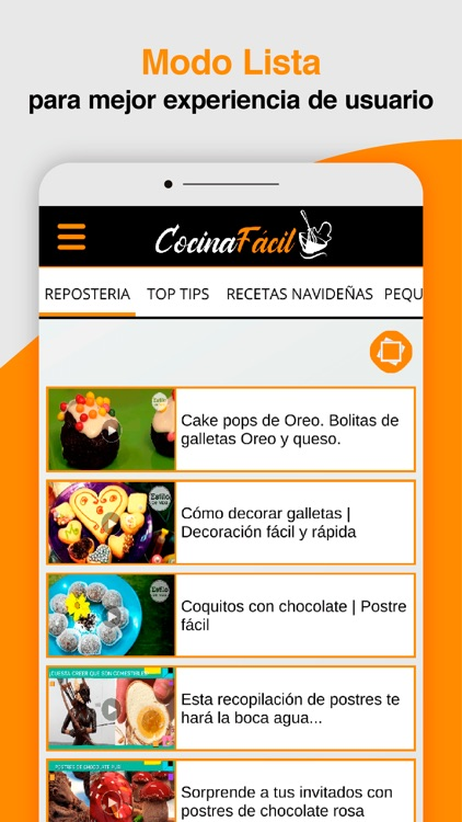 COCINA FÁCIL video recetas screenshot-3