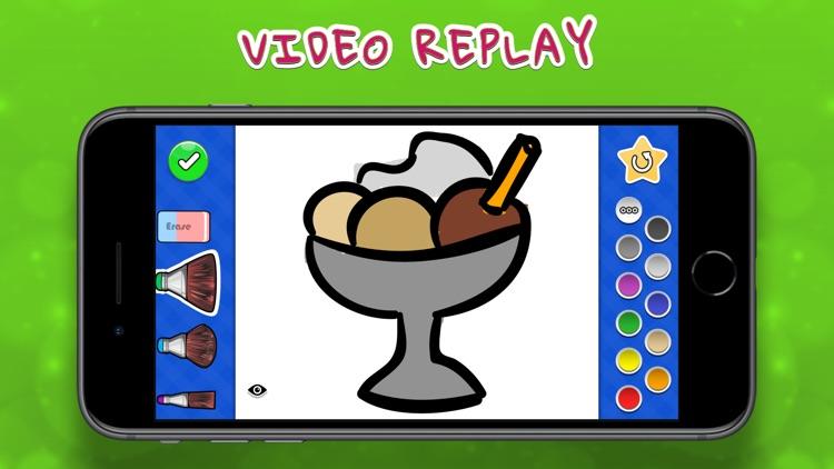 Coloring Your Yummies MAX screenshot-3