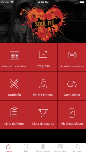 Calendario Fit.Soul Fit Salud Y Forma Fisica On The App Store