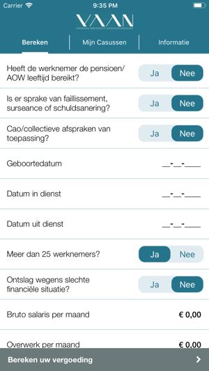Ontslag App In De App Store