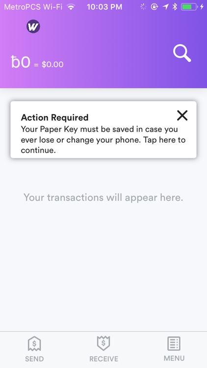 Wampum 1st Wallet screenshot-2