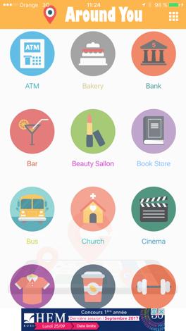 Around Me App Online