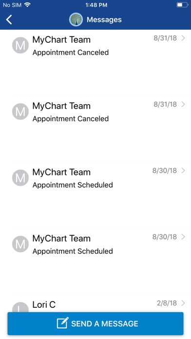 SCL Health MyChart by SCL Health (iOS, United States) - SearchMan