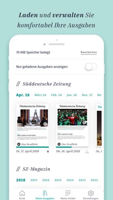 Süddeutsche Zeitung app image