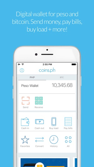 Coins load bills bitcoin on the app store iphone screenshots ccuart Choice Image