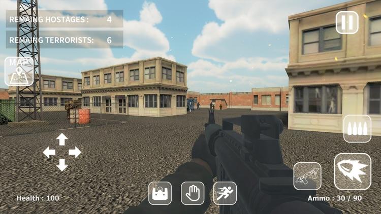Counter Combat: Hostage Rescue screenshot-5